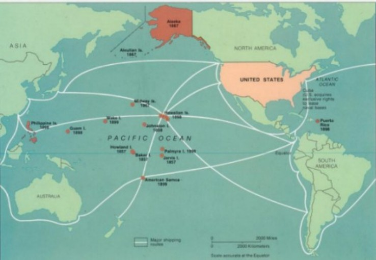 American Imperialism - Maps of us imperialism