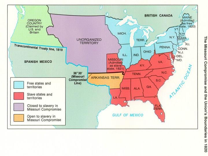 Politics Of Sectionalism 1840 1860